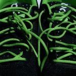 Veters strikken hardloopschoenen